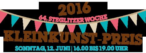 KLEINKUNST-PREIS 2016